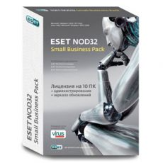 Антивирус Eset NOD32 Small Business Pack newsale for 10 user (NOD32-SBP-NS(CARD)-1-10)