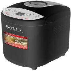 Хлебопечь Centek CT-1406 Black silver